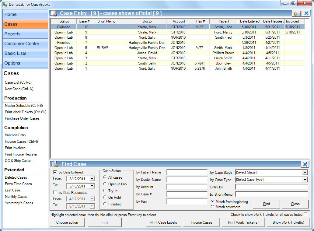 dental lab software by mainstreet systems